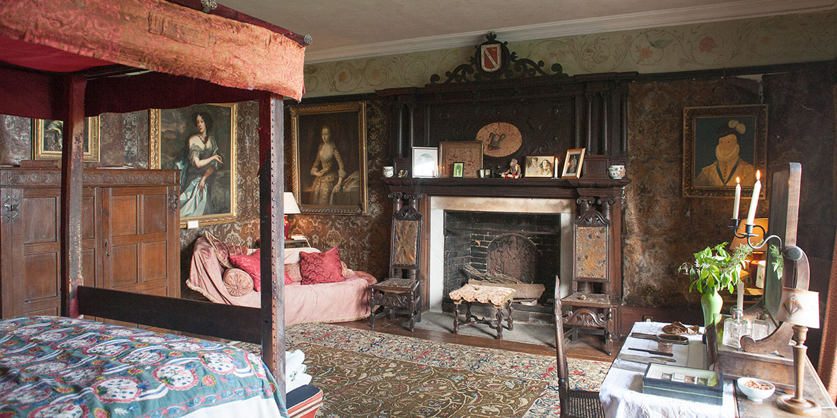 The Cordova Room at Hellens Manor, Much Marcle, Herefordshire