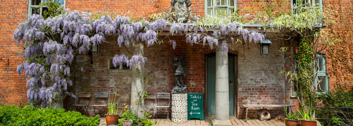 The Tearoom at Hellens Manor, Much Marcle, Herefordshire