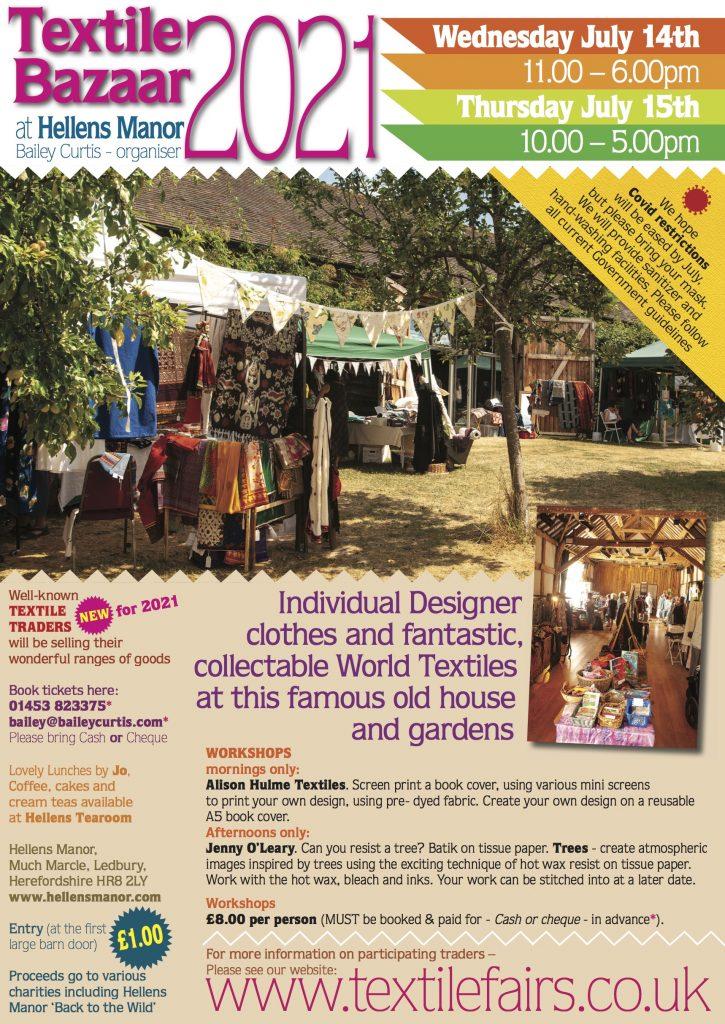 Textile Bazaar flyer